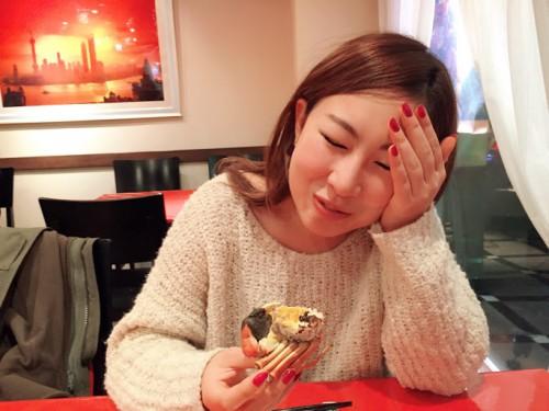 上海蟹に悶絶