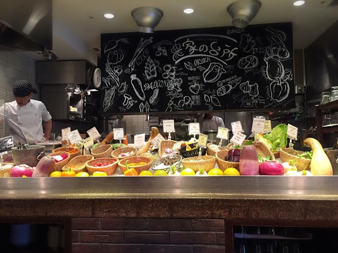 新鮮野菜が主役「農家の台所」