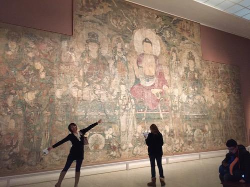 海外旅行でも美術館巡りは欠かさない