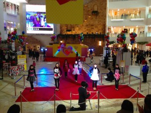 阪急百貨店にてアモリコファッションショー