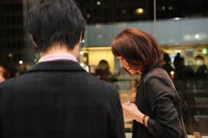 LOVE CHROME  展示会での商談