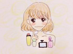 香水を選ぶ女の子
