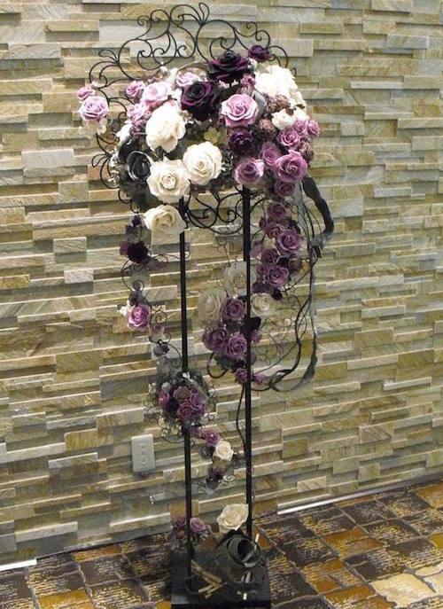 2年間の社会人を経てフローランガーデンを設立/高輪プリンスホテルロビー装花