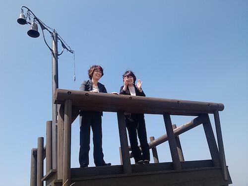 企画を立てるため嬬恋村のキャベツ畑を視察