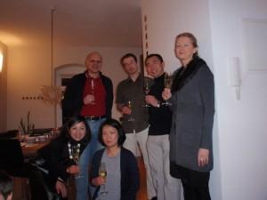 ドイツ滞在時のホームパーティの風景