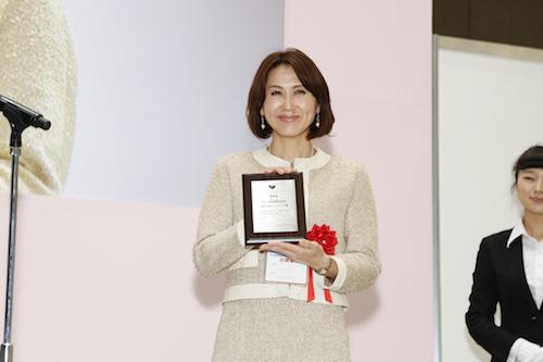 2014年ワークライフバランス授賞式にて